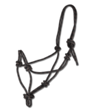 Waldhausen touwhalster zwart/bruin_