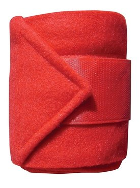 Fleece bandages rood