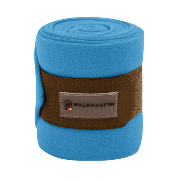 Fleece bandages azuurblauw