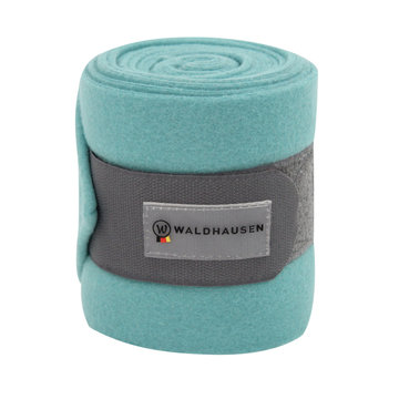 Fleece bandages muntgroen