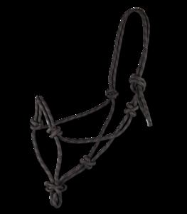 Waldhausen touwhalster zwart/bruin